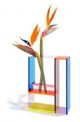 Vase Neon Mondri
