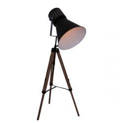 Stehlampe 1-L 1458ZW | Schwarz