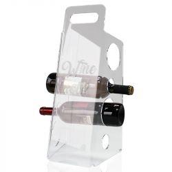 Flaschenregal Wine Not | Transparent