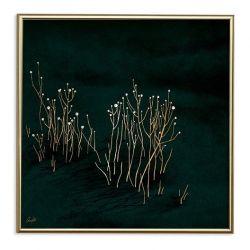 Poster 24K Gold | Green Velvet