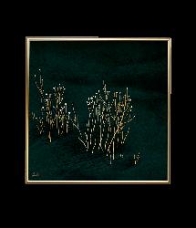 Poster 24K Gold Small | Green Velvet