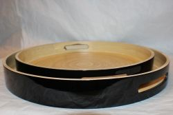 Bamboo Tray Black