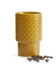 Caffè-Latte-Becher 400 ml | Gelb