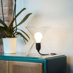 JAL Mini Lamp | Transparent