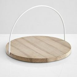 Loop Tray | White