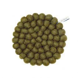 Sous-Plat Rond | Olive