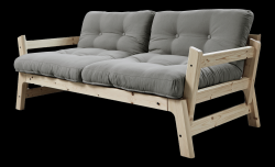 Sofabed Step | Naturel Frame | Grijs