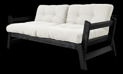 Sofabed Step | Black Frame | Natural