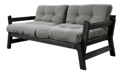 Sofabed Step | Black Frame | Grey