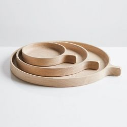 Tray Racket | Natural Oak