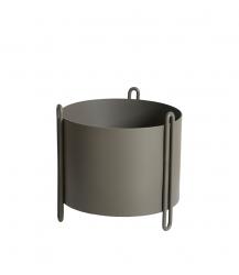 Flowerpot Pidestall Small | Taupe
