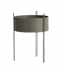 Flowerpot Pidestall Large | Taupe