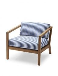 Outdoor Chair Virkelyst | Blue Stripes