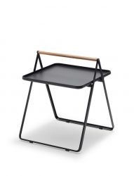 By Your Side Table | Anthracite / Black