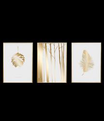 Poster 24K Gold | Kombination von 3 063