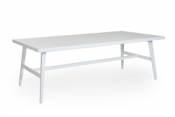 Table de jardin Calmar | Blanc