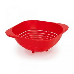 Colander Easy Pour | Red