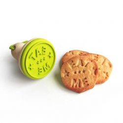 "Cookie Stamp ""EAT ME"""