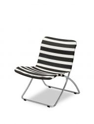 Sunchair Lise | Black / White Striped