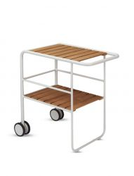 Serving Trolley Fuori | White