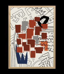 High-quality Poster | TRIBE_06 by Merav Lerech