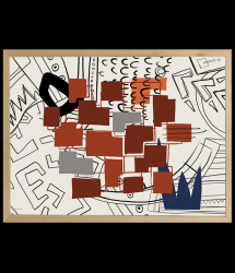 High-quality Poster | TRIBE_07 by Merav Lerech