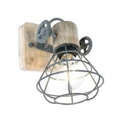 Wall Lamp 1-L 1578GR | Grey