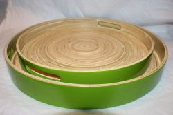 Bamboo Tray Green