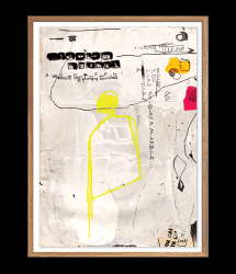 High-quality Poster | SENTIMENT_06 by Irit Hayon