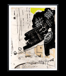 High-quality Poster | SENTIMENT_07 by Irit Hayon