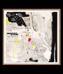 High-quality Poster | SENTIMENT_01_SQ by Irit Hayon