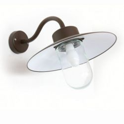 Belcour Outdoor Wandlamp Zwart