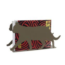 Magazine Rack Feline | Grey