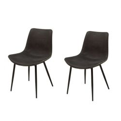 Hangers Chair Set of 2 | Black