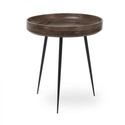 Table Bowl Medium | Sirka Grey Stained Mango Wood