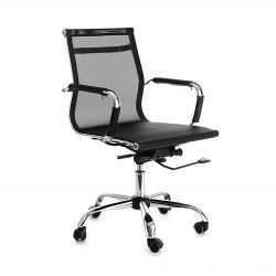 Office Chair Web Net | Black