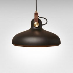 Carronade Spot Pendant Large | Black
