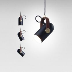 Carronade Spot Pendant Small | Black