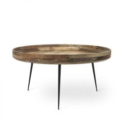Table Bowl Extra Large | Natural Lacquered Mango Wood