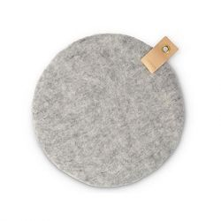 Seat Cushion | Raw Grey