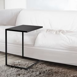 Table de Chevet Lupe 60 cm | Noir
