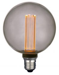 Glühbirne Future LED Smokey 12.5 cm   Grau