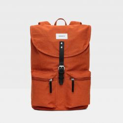Backpack ROALD | Rust with Black Leather