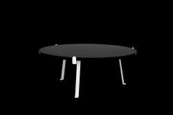 Table de Salon Arch | Dessus de Table Noir
