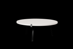 Table de Salon Arch | Dessus de Table Blanc
