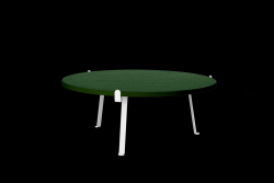 Arch Coffee Table | Dark Green Top