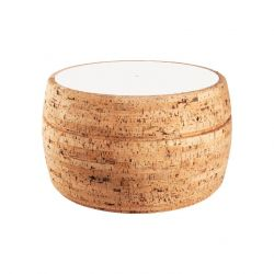 Side Table #4 | Natural Cork