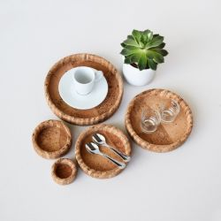 Trays Cork | Set of 5