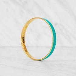Thin Bangle Bracelet | Turquoise