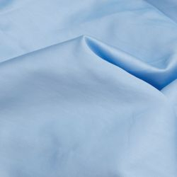King Fitted Sheet Satin | Light Blue